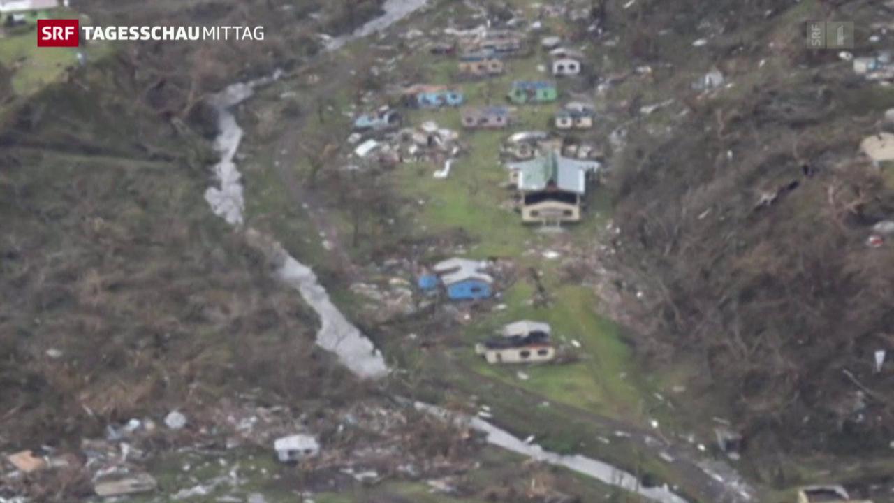 Notstand nach dem Tropensturm
