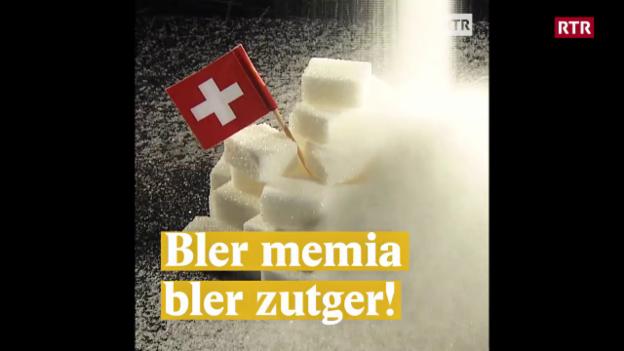 Laschar ir video «Bler memia bler zutger!»
