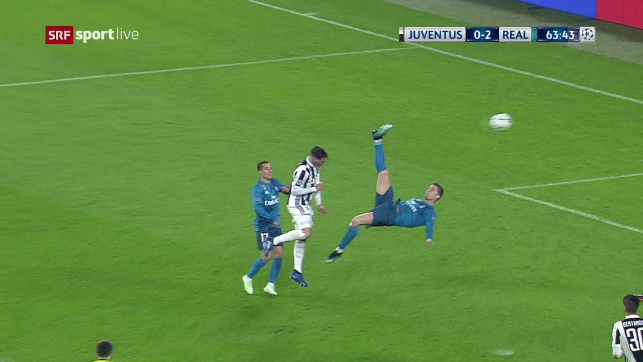 Cristiano Ronaldo tar sia bicicletta