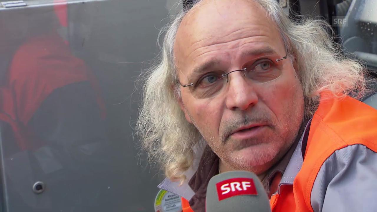 Hans Niederhauser im Interview (SRF)