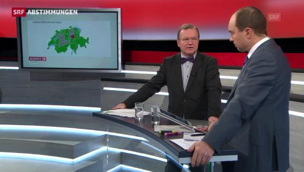 Video «Longchamp: «Nur Kanton Schwyz sagt Nein zu Fabi»» abspielen