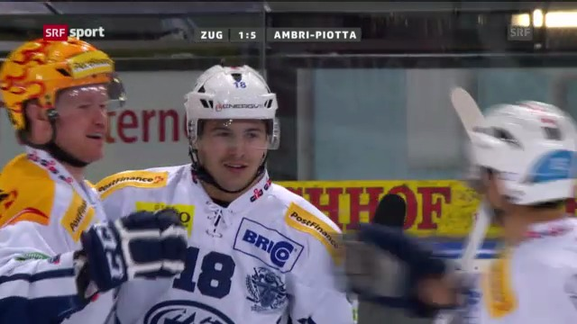 NLA: EV Zug - Ambri-Piotta