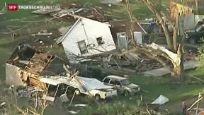 Video «Tornados wüten in den USA» abspielen