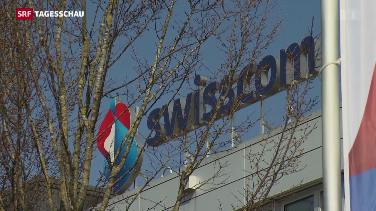 Wieder Busse für Swisscom