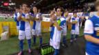 Video «Fussball: Ein Tag bei GC» abspielen