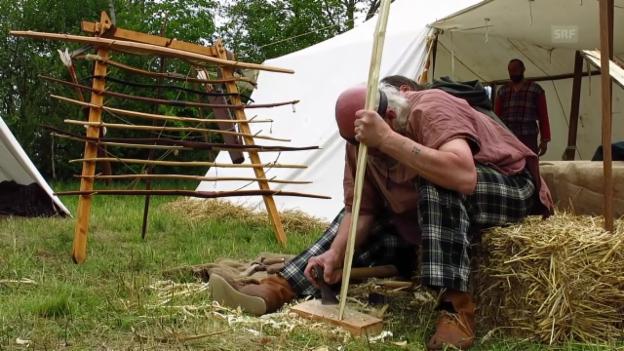 Video «Die Welt der alten Helvetier auf dem Mont Vully» abspielen