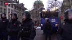 Video «Grosse Sicherheit beim Staatsempfang» abspielen
