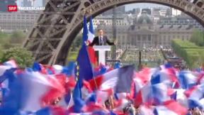 Video «Frankreich zahlt nichts an Sarkozys Wahlkampf» abspielen