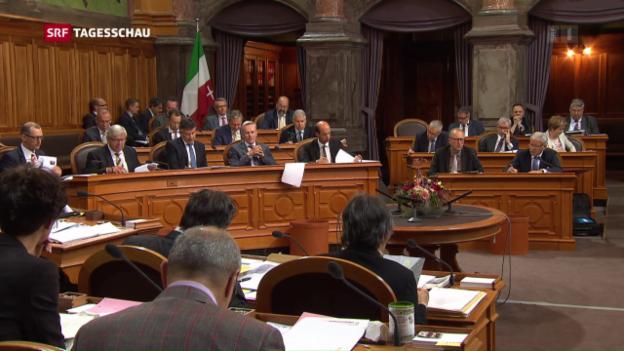 Video «Parlament gleist Energiestrategie 2050 auf» abspielen