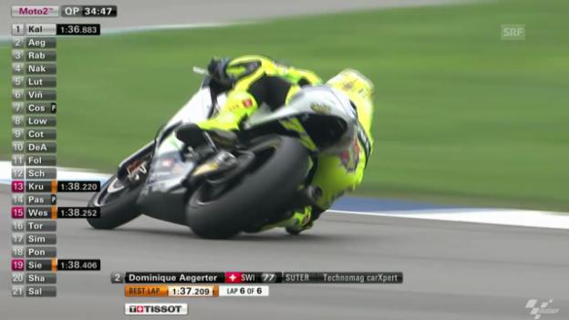 Video «Motorrad: Qualifying zum GP Indianapolis» abspielen