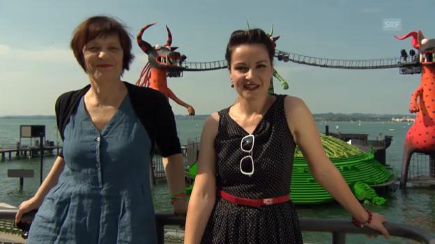 Video «Kommentarstimmen: Gabriela Kaegi & Frölein Da Capo» abspielen