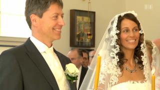 Video «Hochzeit: Prinz Yourievsky und die bürgerliche Silvia Trumpp» abspielen