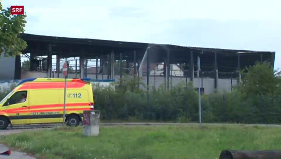 Wieder brennt eine Asylunterkunft