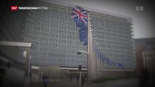 Video «Brexit: langwierige Verhandlungen stehen bevor» abspielen