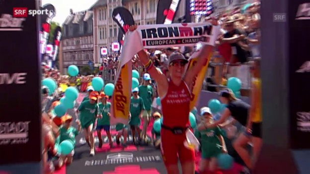 Video «Triathlon: Ironman Frankfurt» abspielen