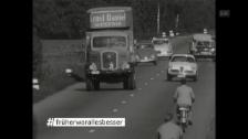 Video «#früherwarallesbesser: tollkühne Autofahrer» abspielen