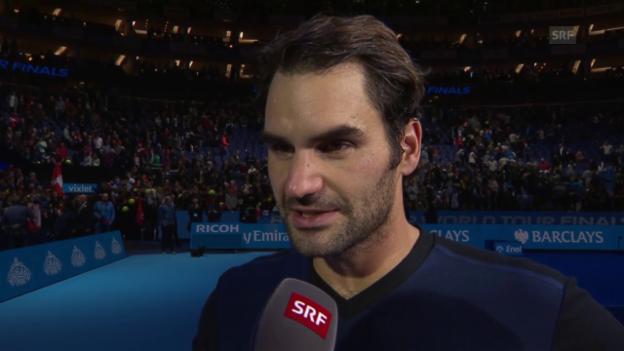 Video «Tennis: Federer im Interview» abspielen