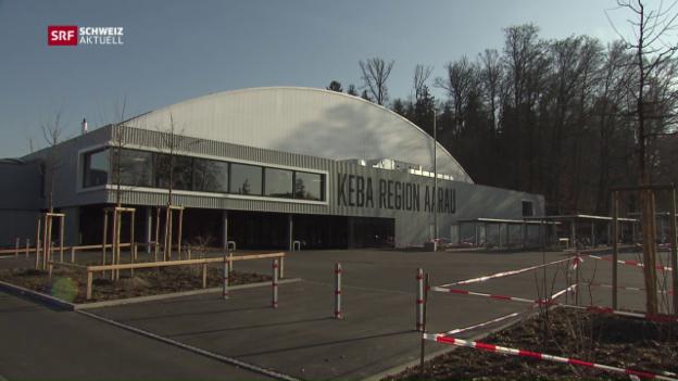 Video «Kunsteisbahn Aarau muss abends schliessen» abspielen