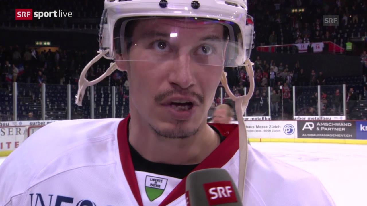 Eishockey: Interview mit Oliver Setzinger («sportlive», 25.03.2014)