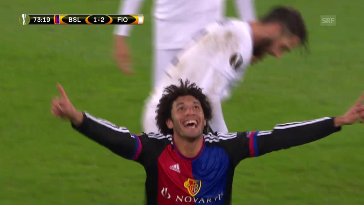 Fussball: Europa League, 5. Runde, Basel - Fiorentina (Livehighlights)