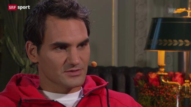 Video «Federer über sein Jahr 2013» abspielen
