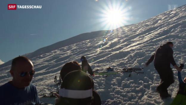 Video «Für die Skigebiete war es ein verkorkster Winter» abspielen