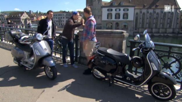 Video «Rollerfahren ohne Schutzbekleidung: Cool, aber gefährlich» abspielen