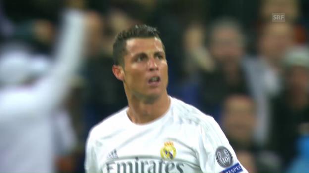 Video «Ronaldo-Show beim 3:0 von Real gegen Wolfsburg» abspielen