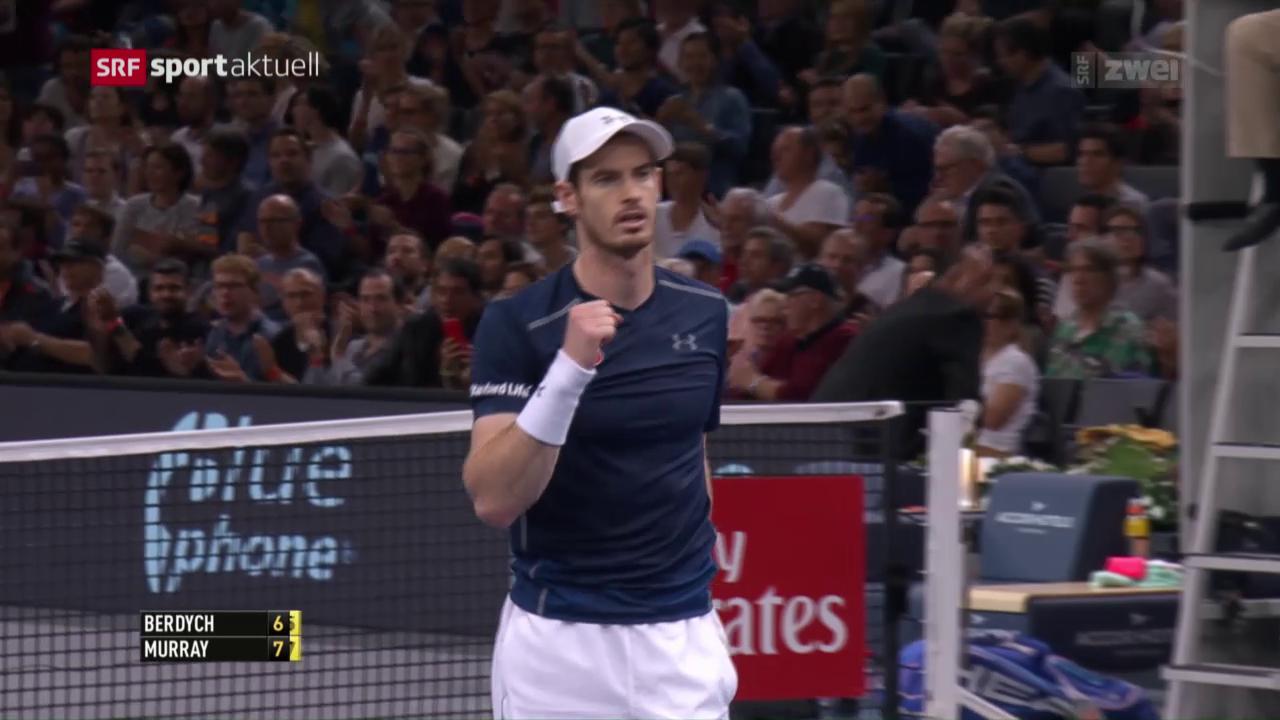Djokovic verliert, Murray siegt