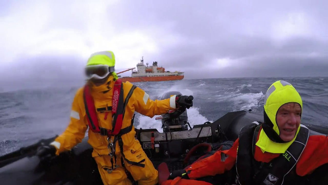 In 88 Tagen um die Antarktis