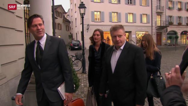 Video «Prozessauftakt gegen Ignaz Walker» abspielen
