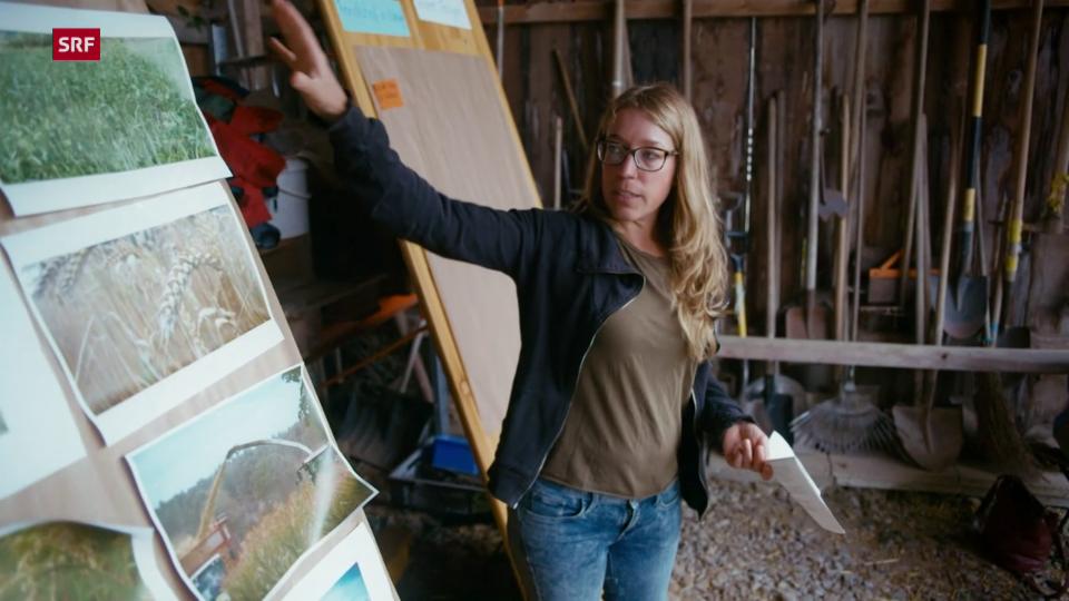 Tina Siegenthaler: «Wir variieren den Anbau, um den Boden zu schonen.»