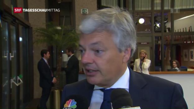 Video «Europas Minister befürchten eine Abkehr der Rechtstaatlichkeit» abspielen