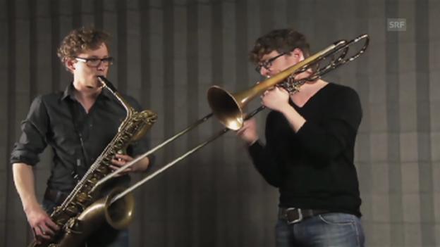 Video «Haben Sie Töne, Andreas und Matthias Tschopp» abspielen