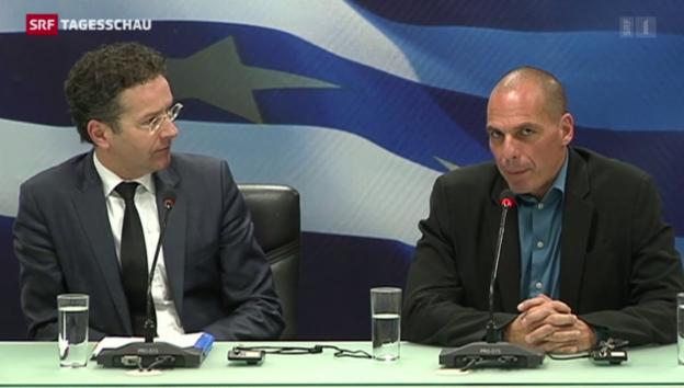 Video «Griechenland auf Konfrontationskurs» abspielen