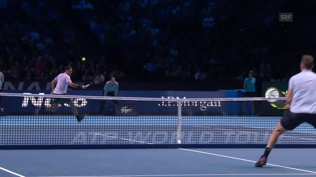 Live-Highlights Federer - Sock
