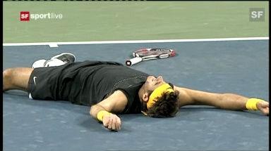 Highlights Federer - Del Potro am US Open 2009 («sportlive»)