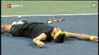 Video «Highlights Federer - Del Potro am US Open 2009 («sportlive»)» abspielen