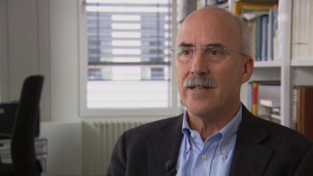 Video «George Shelden über neue Stellen» abspielen