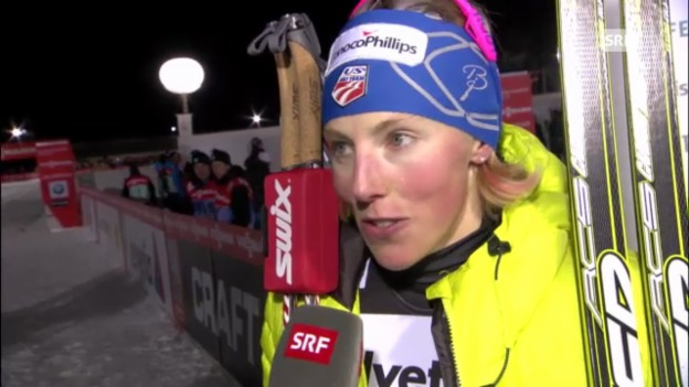 Video «Langlauf: Interview Kikkan Randall» abspielen