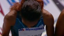 Video «LA: Hallenweltrekord von Genzebe Dibaba über 5000 Meter» abspielen