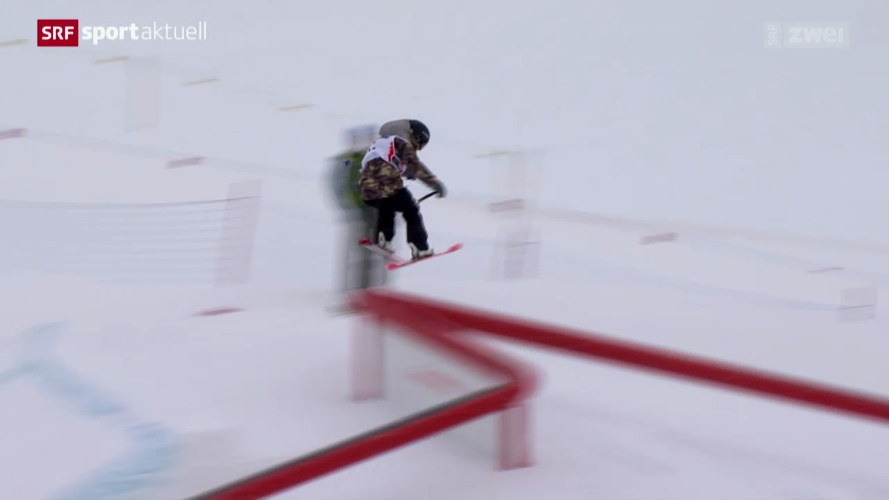 Ski Freestyle: Slopestyle in Silvaplana