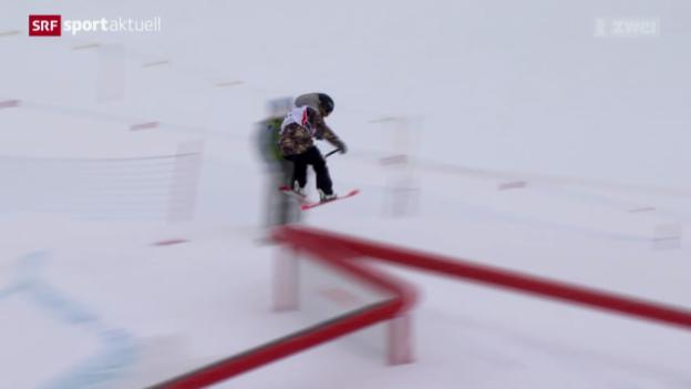 Video «Ski Freestyle: Slopestyle in Silvaplana» abspielen