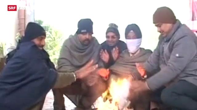 Kältetote in Indien