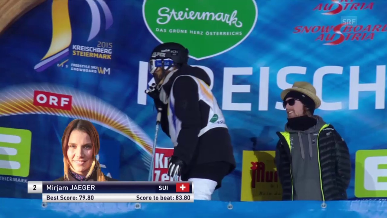 Freeski: Halfpipe, 3. Final-Lauf Mirjam Jäger