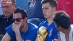 Video «Fussball WM: Arrivederci Italia!» abspielen
