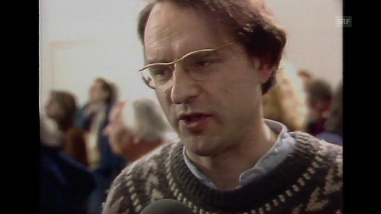 «Portrait Harald Naegeli», Tagesschau vom 18.4.1984