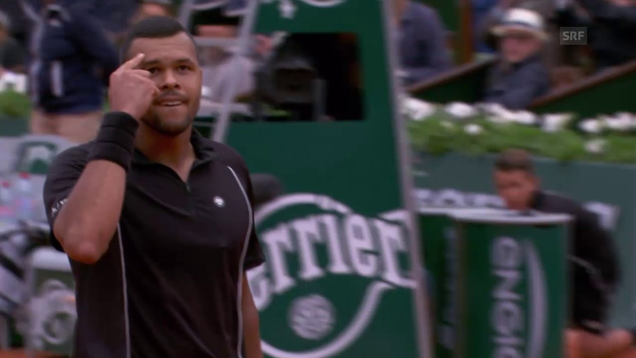 Tennis: French Open, Berdych - Tsonga, Live-Highlights