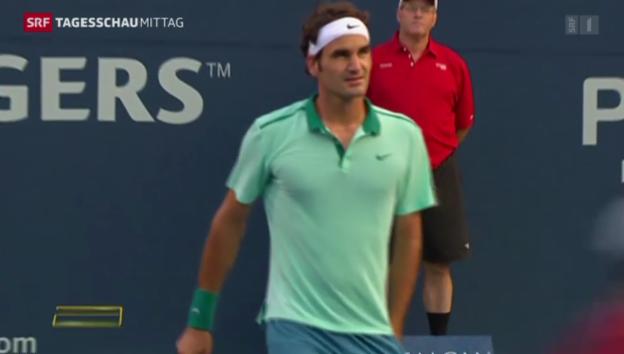 Video «Federer und Wawrinka weiter» abspielen