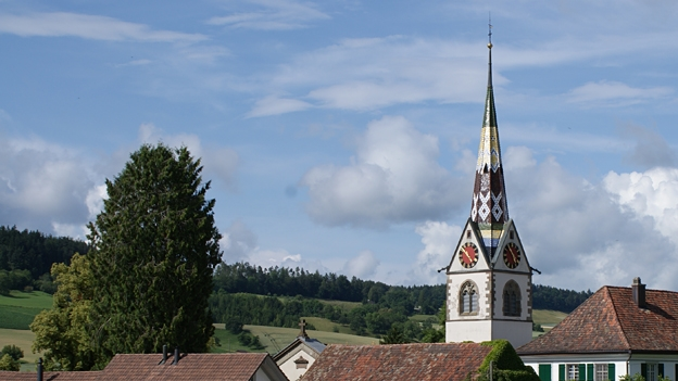 Glockengeläut der reformierten Kirche in Schleitheim